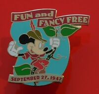 Walt Disney Enamel Pin Badge Fun and Fancy Free Mickey Mouse Millennium Pin #97
