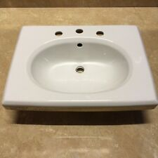 Balterley White Basin With Gold Greek Key Vanity Discontinued Bathrooms