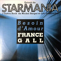 France Gall CD Single Besoin D'amour - France (VG+/VG+)