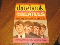 The Beatles DATEBOOK MAGAZINE Fall 1964