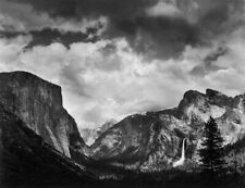 JEFF NIXON SIGNED CLEARING THUNDERSTORM  - YOSEMITE VALLEY 16X20 PHOTOGRAPH