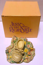 1999 Just The Right Shoe Baby Quilt Music Box Twinkle Twinkle Little Star 25306