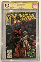 Uncanny X-Men #265 CGC 9.4 SS Chris Claremont 1990