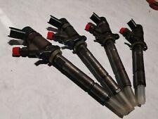 SET 4 Peugeot Citroen 1.6 HDi DIESEL FUEL INJECTOR Bosch 0445110188
