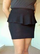 Womens skirt by Bershka Size L Black Peplum Very good conditions