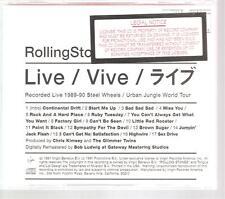 "Rolling STONES ""Flashpoint"" US silkscreen PROMO CD RAR"