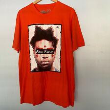 Free Kodak Sniper Gang Apparel Hip Hop Rap T Shirt Men's Size Xl Orange