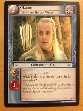 Lord of the Rings CCG Fellowship 1U48 Haldir Elf of the Golden Wood LOTR TCG