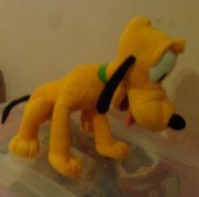 "15"" DISNEY SOFT PLUSH PLUTO PUPPY DOG WITH BIG FLOPPY EARS   GREEN COLLAR KOHLS"