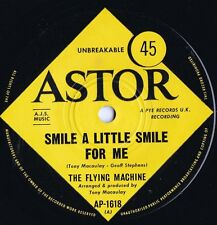 Flying Machine ORIG OZ 45 Smile a little smile for me EX '69 Astor Bubblegum