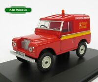 BNIB O GAUGE OXFORD 1:43 43LR2AS002 Land Rover Series 2A SWB Royal Mail Hard Top