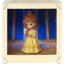 Precious Moments Disney Showcase Belle Resin/Vinyl LED Shadow Box #164112