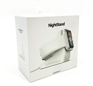 Elevation NS-106 Lab Nightstand for Apple iWatch White #1204