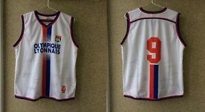 Olympique Lyonnais Home football shirt 2004/2005 Signed France Camiseta Rare