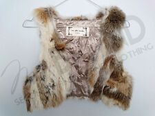 GILET DONNA IN PELLICCIA LAPIN ONE AFTER ANOTHER, FUR, MEX, PELZ ART.5397