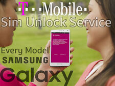 T-MOBILE FACTORY SIM UNLOCK APP CODE SERVICE SAMSUNG GALAXY S8 S7 EDGE S6 NOTE