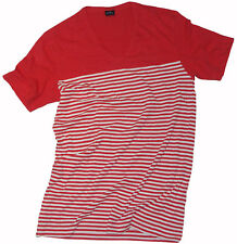 PAUL SMITH MAINLINE LIGHTWEIGHT STRIPED COTTON T-SHIRT / TOP Sz - M fitted RARE