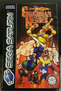 Guardian Heroes Original Game Case Only UK Pal edition