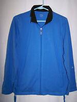 Womens CG.L.CG Blue Zip Up Jacket Size M