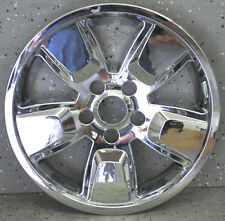 "(1) JEEP LIBERTY CHROME 16"" WHEEL LINER RIM LINERS HUBCAP HUBCAPS SKINS NEW"