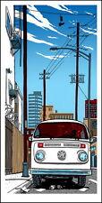 Jackie Brown Tarantino cartel de impresión de pantalla por artista Mondo Tim Doyle Sn// 150