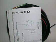 IMPIANTO ELETTRICO ELECTRICAL WIRING MV AGUSTA TR 125 CON BATTERIA+SCHEMA EL.