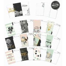 Carpe Diem BEAUTIFUL Personal Monthly Planner Inserts with dividers fits Filofax