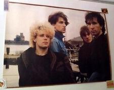 U2, Original 1981 Promo Poster For October, Left Side Trimmed, Great Cond. 25x18