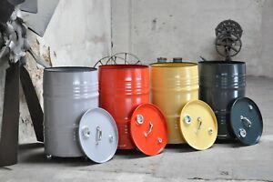 Wäschetonne Wäschekorb Fasstonne aus 60 Liter Neu Fass Farbe nach Wahl
