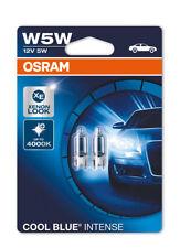Osram W5W (501) azul frío intenso 4000K Luz Lateral Bombillas Xenon Look 2825 HCBI - 02B