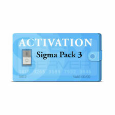 Sigma Pack 3 Activation for Sigma box/Sigma Key dongle FRP Remove -Fast Service-