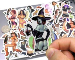 Sexy Comic Book Hero Girls Sticker Packs Babes Sticker Bombs Hot Tribute *NEW