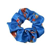 Women Merry Christmas Scrunchies Elastic Hair Bands Ponytail Tie Gift Rope A3M1