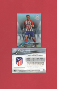 Topps Chrome Champions League 2017/2018 - #13 Saul - Atletico Madrid - Refractor