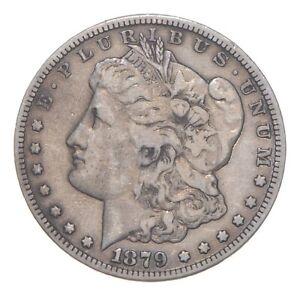 Carson City - 1879-CC Morgan Silver Dollar - RARE Historic Coin *067