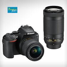 Nikon D5600 18-55mm f/3.5-5.6G+70-300mm f/4.5-6.3G Camera Lens Kit Japan New