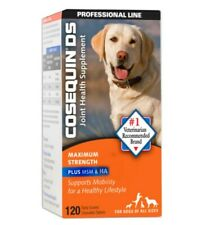 New listing Cosequin Dog Max Strength Chewable 120 tabs Exp 04/2023 Nib