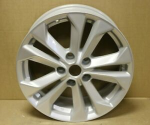 "GENUINE ORIGINAL OEM NISSAN X-TRAIL T32 17"" SILVER ALLOY WHEEL N55701 OR SPARE"