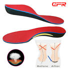 Orthotic Shoe Insoles Flat Feet Foot High Arch Gel Heel Support Inserts Pads OB