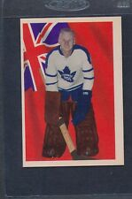 1963/64 Parkhurst #065 John Bower Maple Leafs EX *11