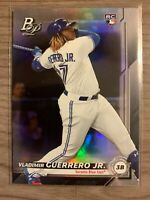 VLADIMIR GUERRERO JR 2019 BOWMAN PLATINUM ROOKIE No. 27 TORONTO BLUE JAYS
