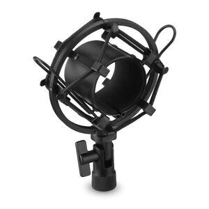 Anti Shock Mount Heavy Duty Metal Shockmount Mic Microphone Cradle Black F5K0