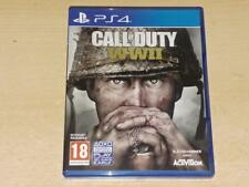 Call Of Duty WWII Guerre Mondiale 2 PS4 Playstation 4