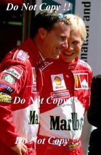 Eddie Irvine & Mika Salo Ferrari F1 Portrait 1999 Photograph