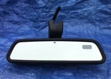 Gentex 015313 BMW Land Rover Audi Rear View Mirror w Dim  Compass & Homelink OEM