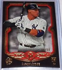 2017 MUSEUM COLLECTION AARON JUDGE RED ROOKIE #d/50 ONLY 50 MADE.YANKEE ROY -MVP