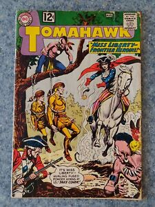 Tomahawk 81 GD 2.0 DC Silver Age Comic Book Accurate Grading