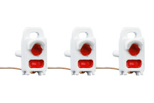 More details for dcc concepts dml-eot 3 x fully working red end of train flashing lamps