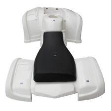 Hmparts Plastique Kit Blanc Type 2 Quad Atv 150-250ccm et Autre Jingling Bashan