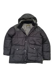 Mens padded Barbour Jacket - Fibre Down- Black - Size XL RRP £355